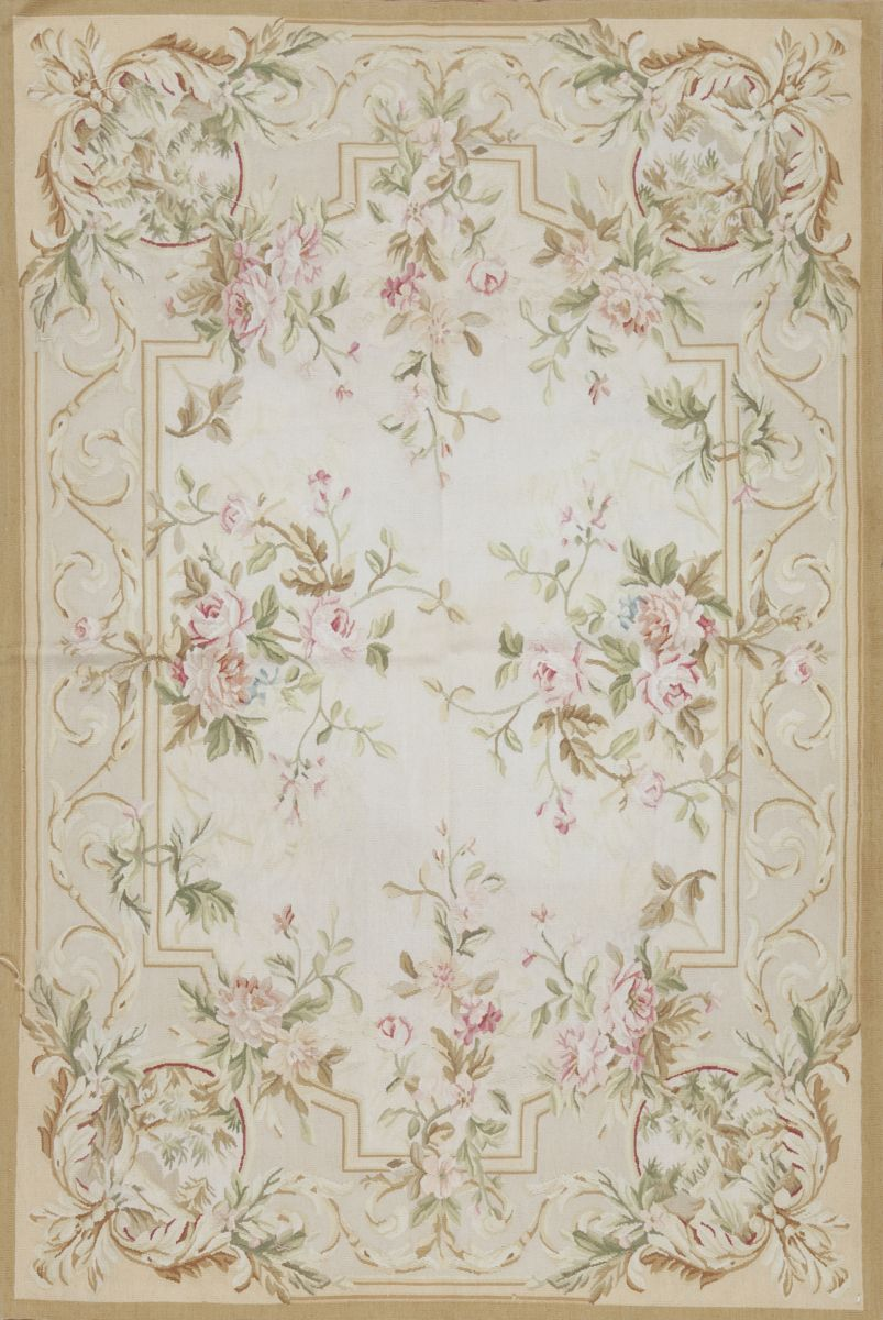 RugStudio presents the Aubusson 118236 by Samad.RugStudio # 93285Brand: SamadCollection: AubussonPromotion: CLEARANCEStyle: Traditional, French Weave: Flat-WeaveOrigin: TurkeyThickness approx: 1/4 inch.Rug pad is recommended for this rug.This item...