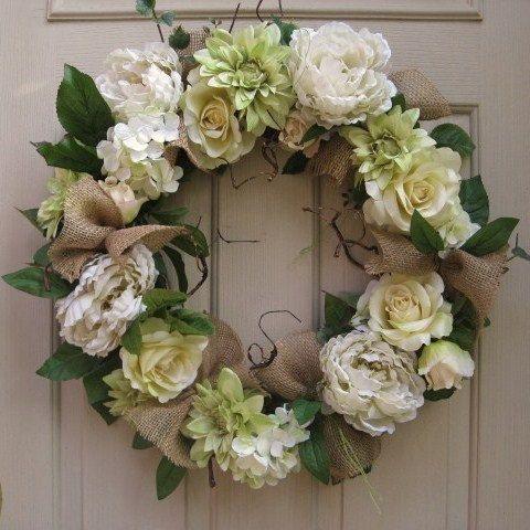 Best 25 Wedding Wreaths Ideas On Pinterest Wedding Door