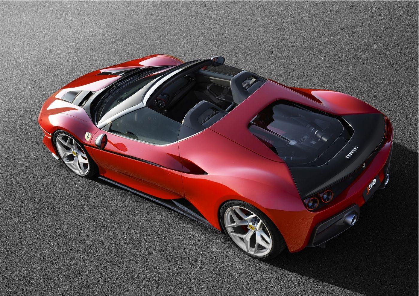 Ferrari J50 50 Years In Japan For The Prancing Horse Car Car