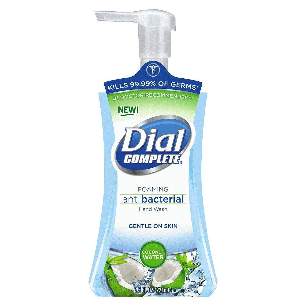 Dial Complete Coconut Water Foaming Antibacterial Hand Wash