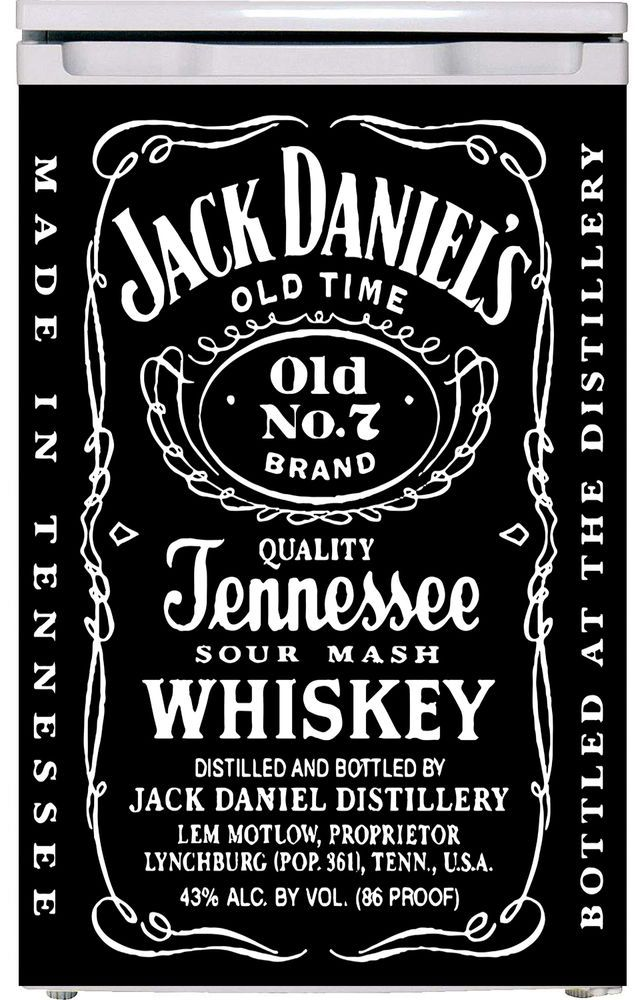 Jack Daniels Vinyl refrigerator decals , Fridge wraps UK, Vinyl ...