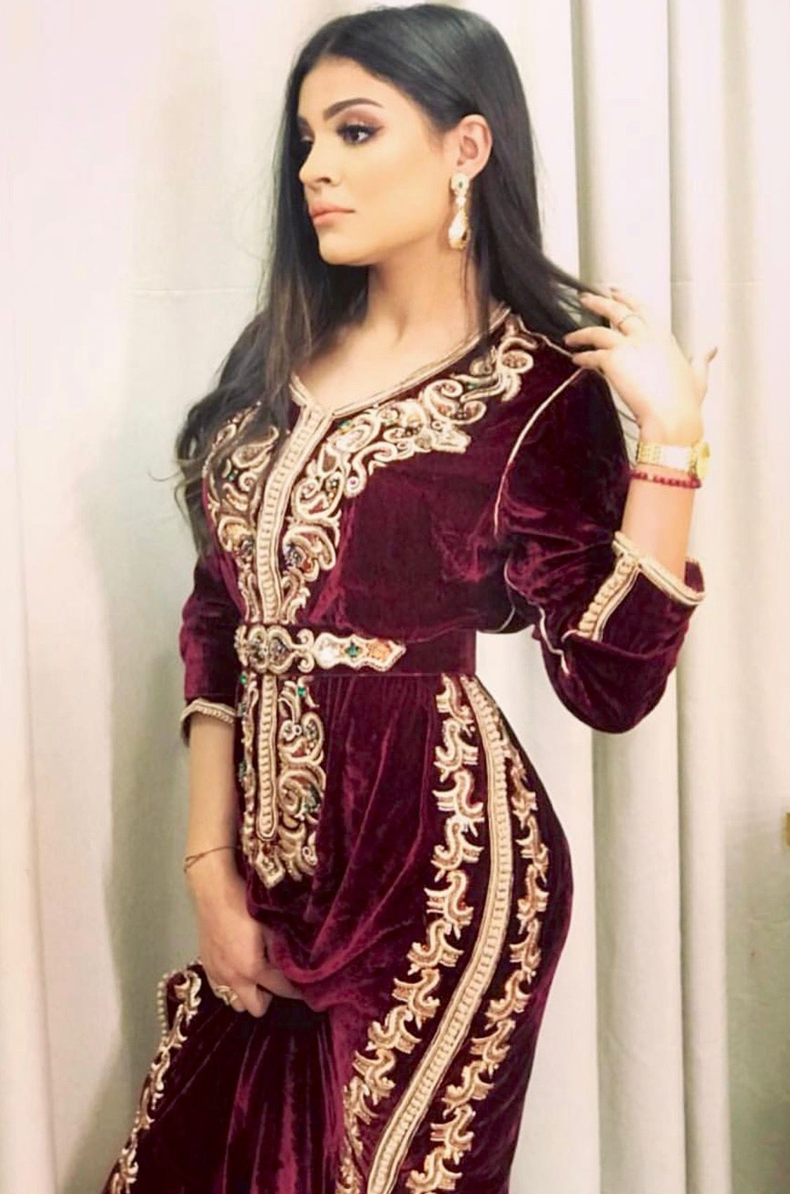 abe48d01cf11c Caftan du Maroc Afghan Dresses