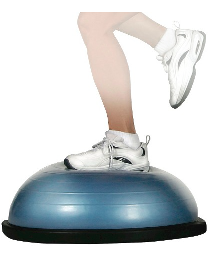 Bosu ball for at home fitness Balance trainer, No