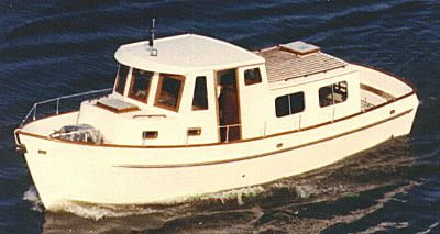 31' Union Jack - semi-displacement trawler yacht-boatdesign