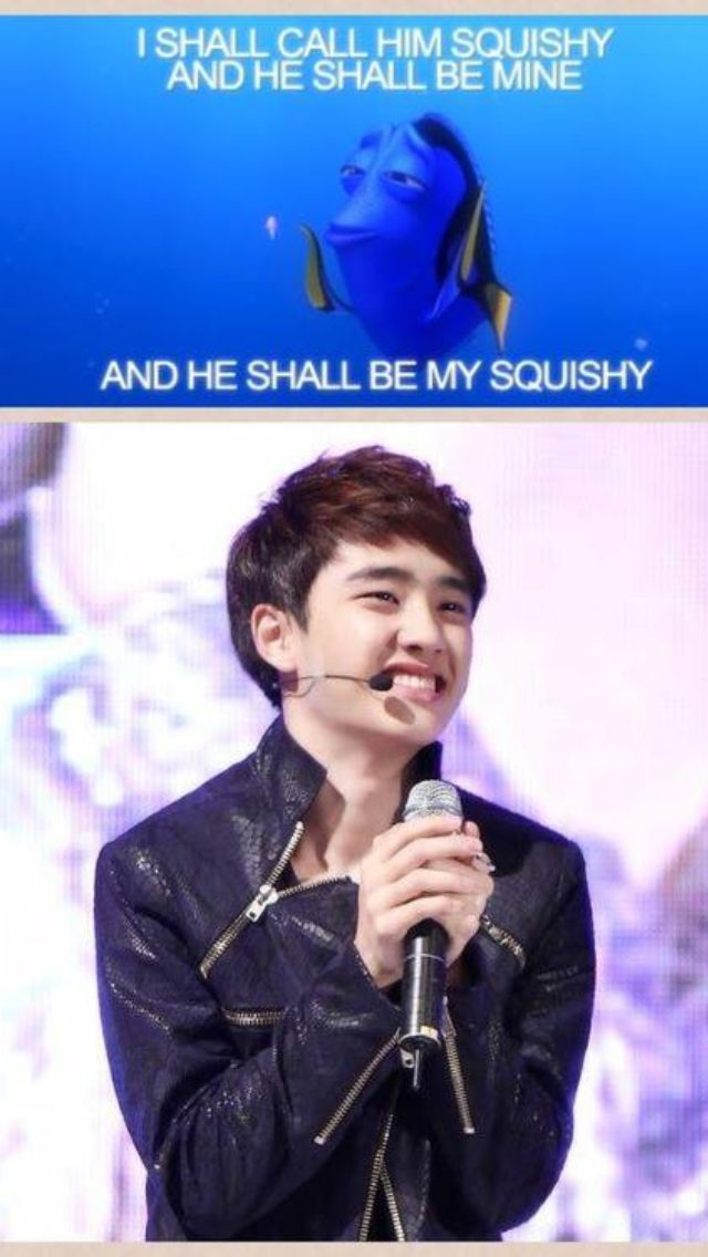 Squishy-Exo Fanfic : Aww~!! keke I wanna have a squishy too~ and i will name him D.O! keke or D.O will be my squishy ...
