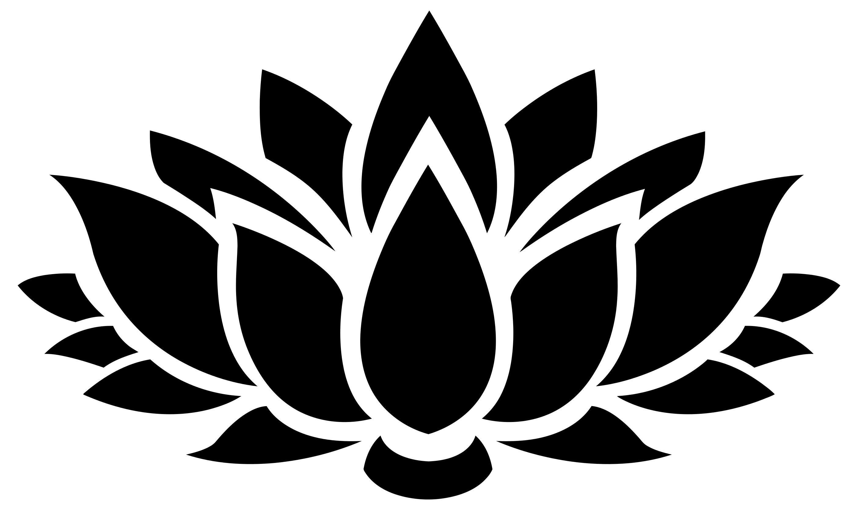 lotus flower logo clip art