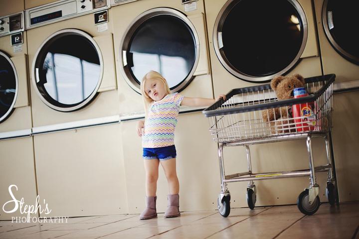 Laundry mat session
