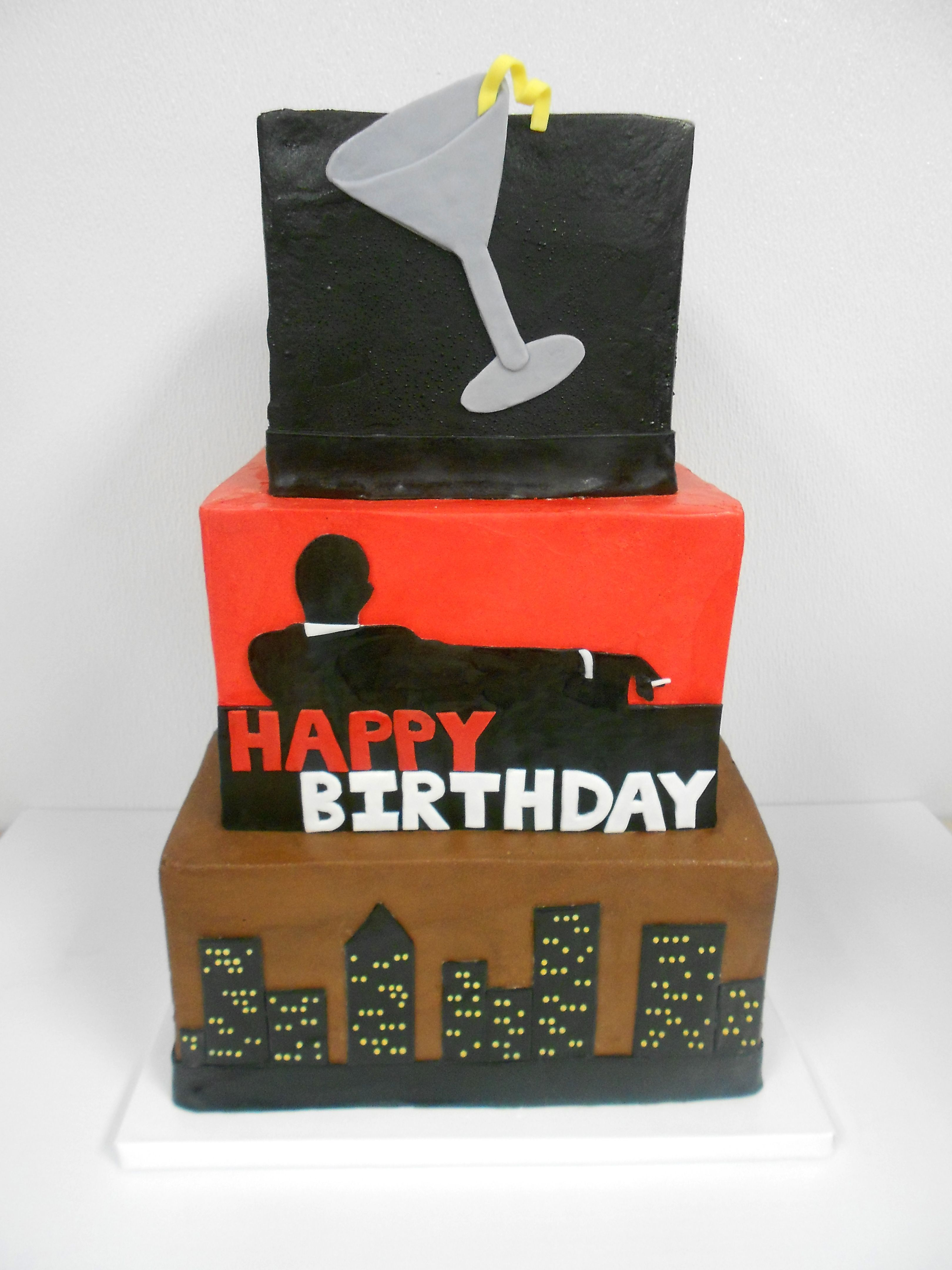 Give Him A Classy And Elegant Themed Birthday With This Mad Men