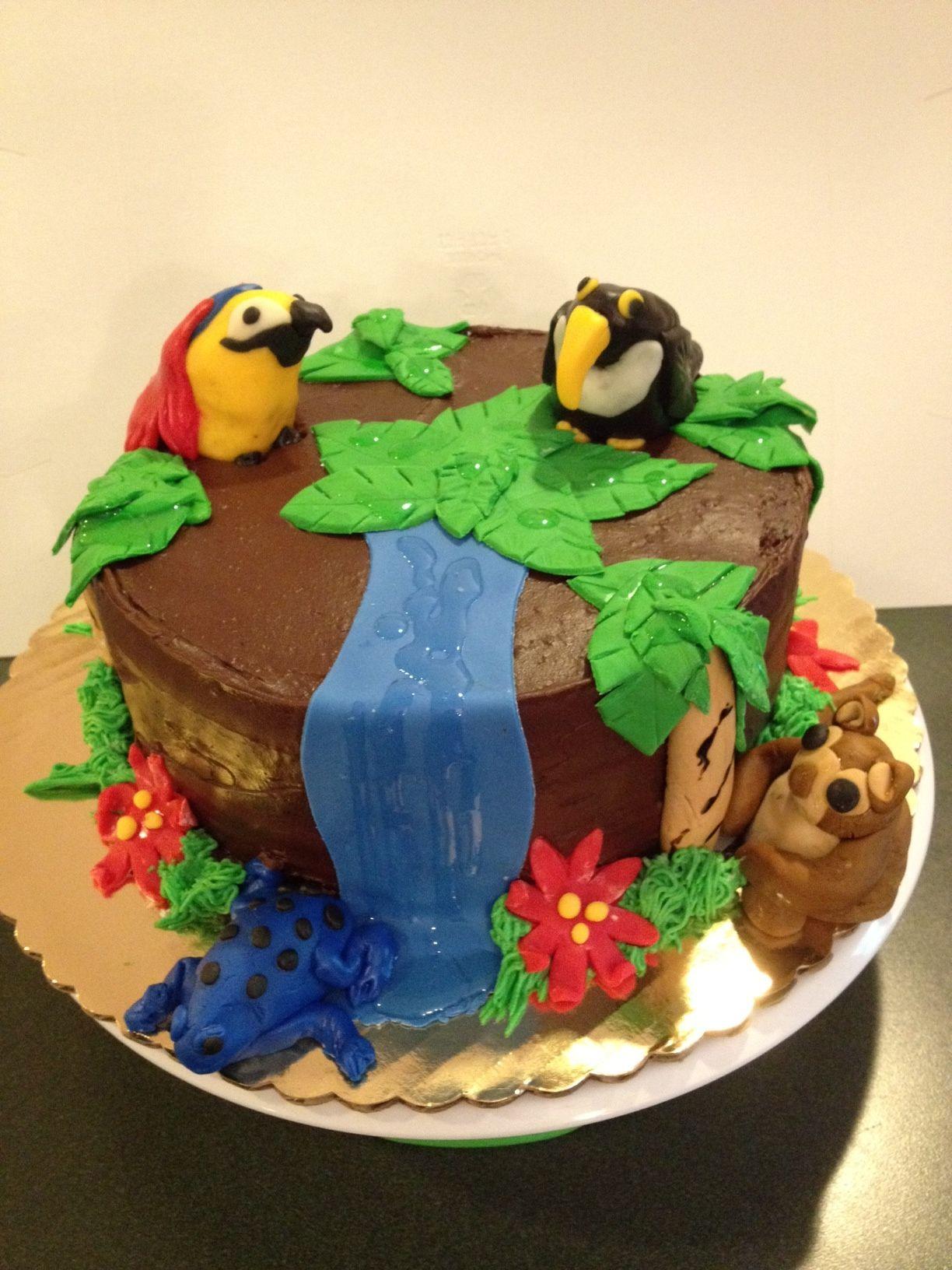 Tropical Rainforest Cake