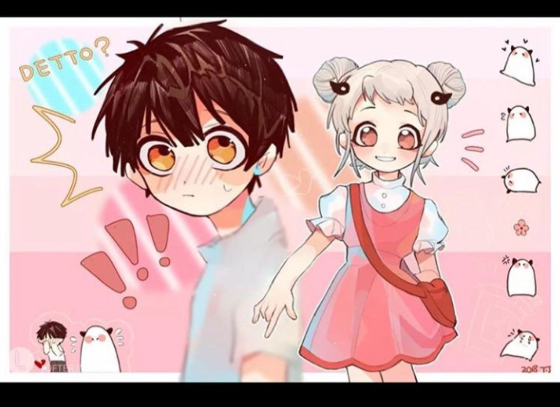 Jibaku Shonen Hanako Kun (Shipp) en 2020 Chibi anime