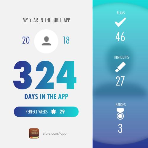 snapshot App badges, Bible, App