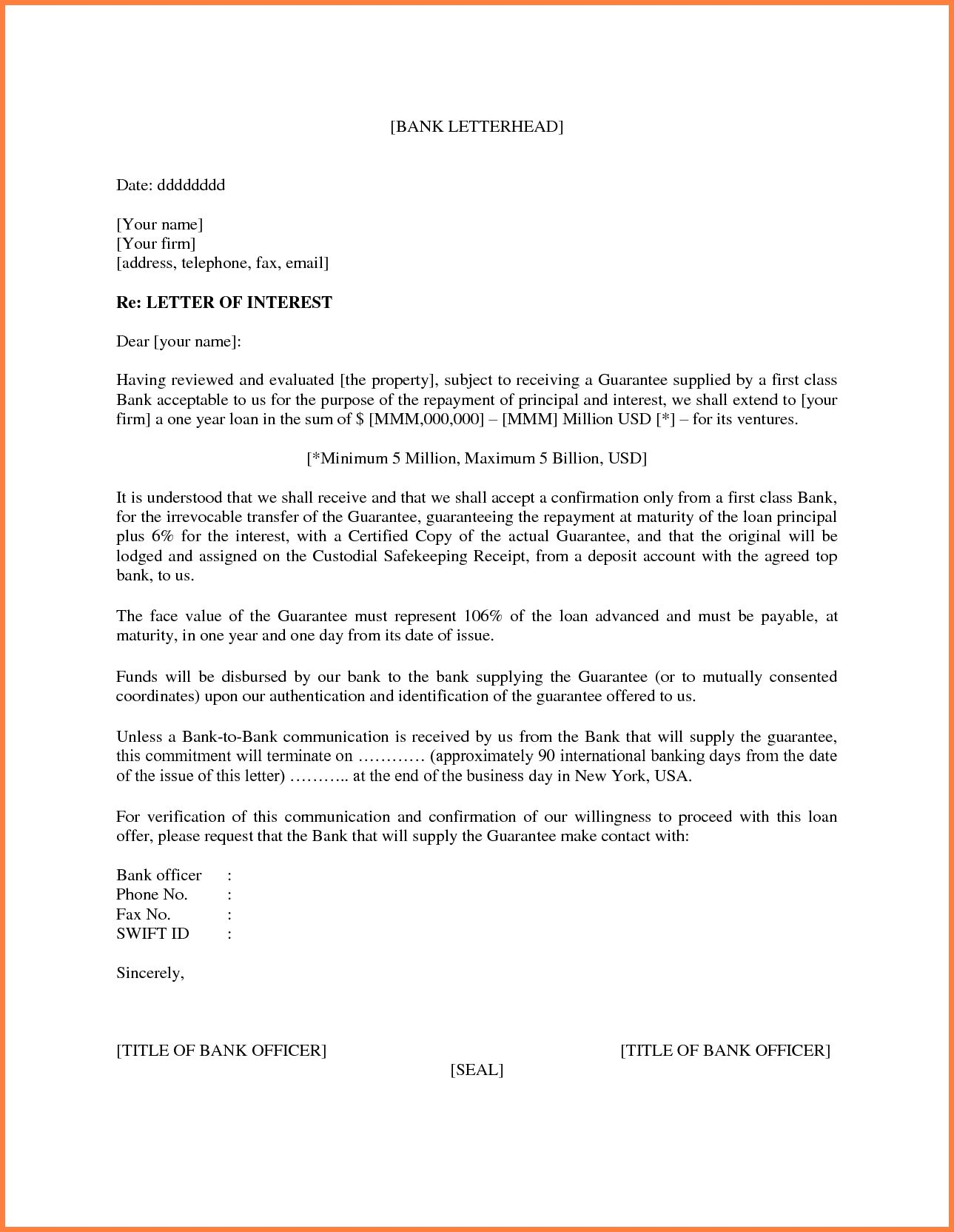 Letter Of Interest Template Microsoft Word 11 New Thoughts With Regard To Letter Of I Letter Of Interest Template Letter Template Word Business Letter Template