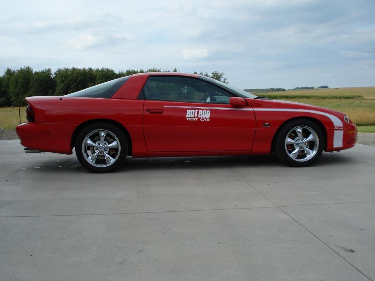 2002 chevrolet camaro hot rod magazine test car