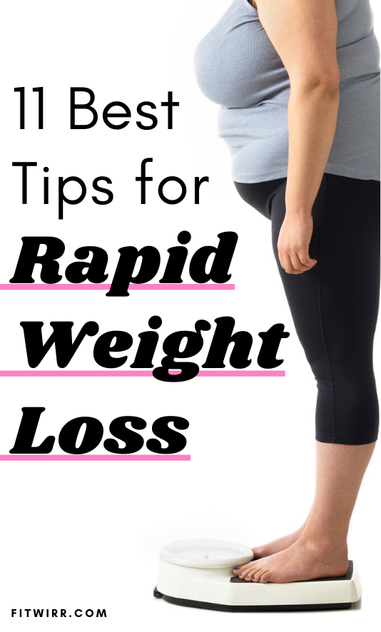 How to Lose Weight Fast: 11 Best Weight Loss Tips