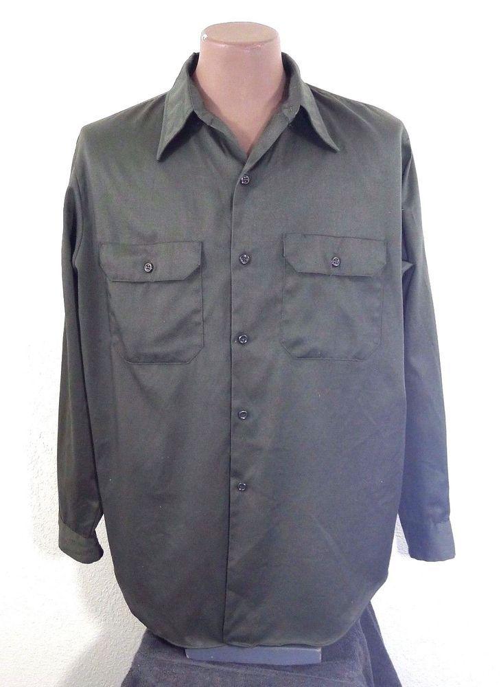 Vintage 70/'s Big Mac Work Shirt Men/'s Medium