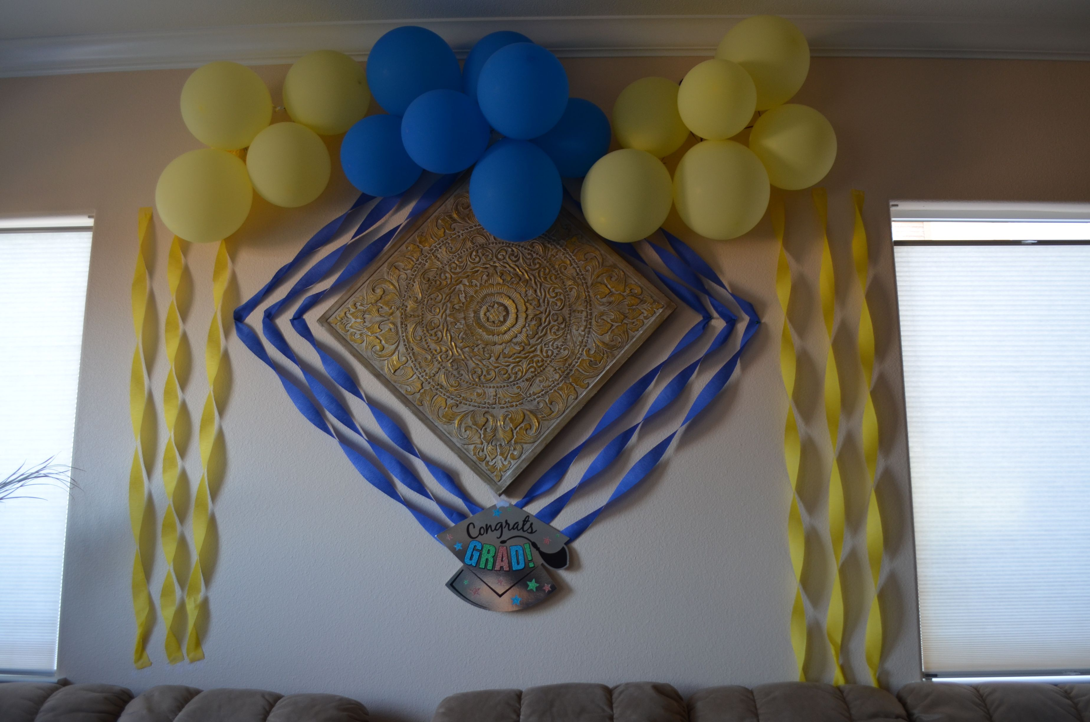 Graduation Party Wall Decoration With Images Graduation Party
