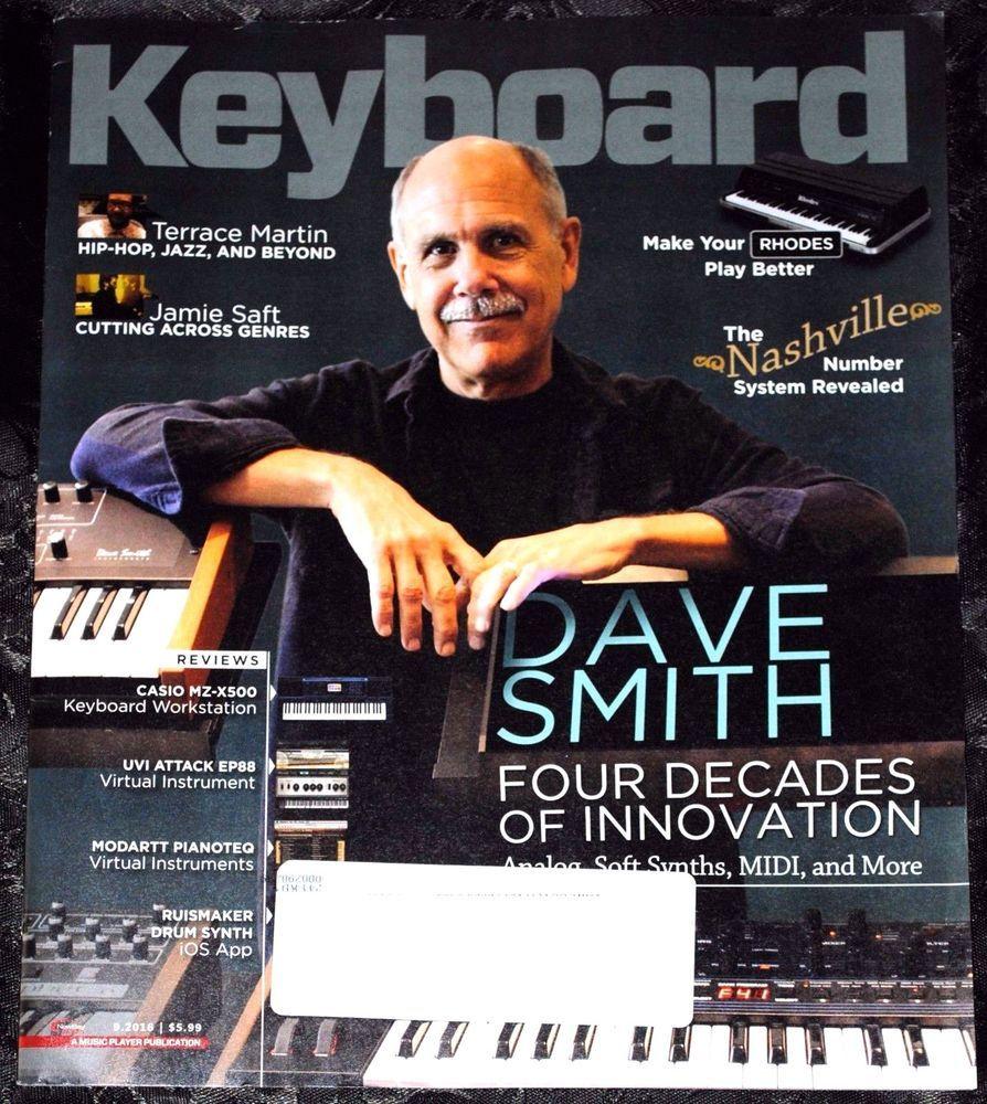 Keyboard Magazine September 2016 | eBay Listings For 2017