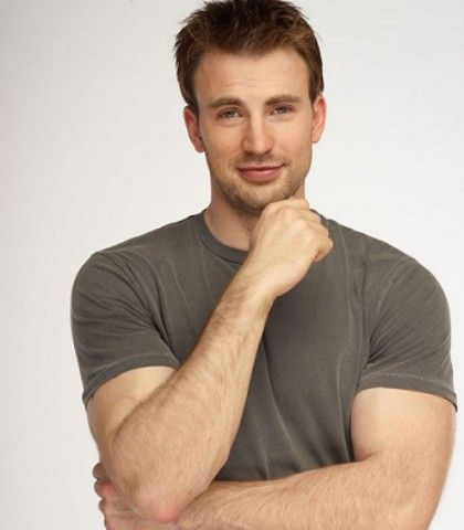 chris evans laugh