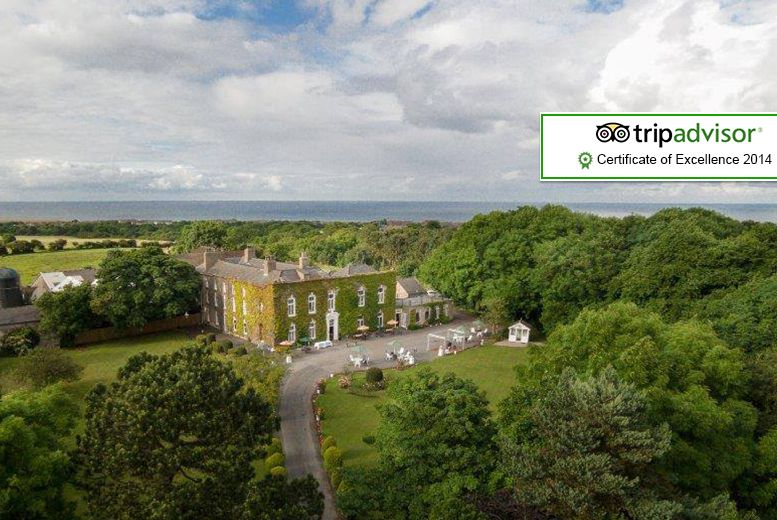 Hardwicke Hall Manor Stay for 2 or 4