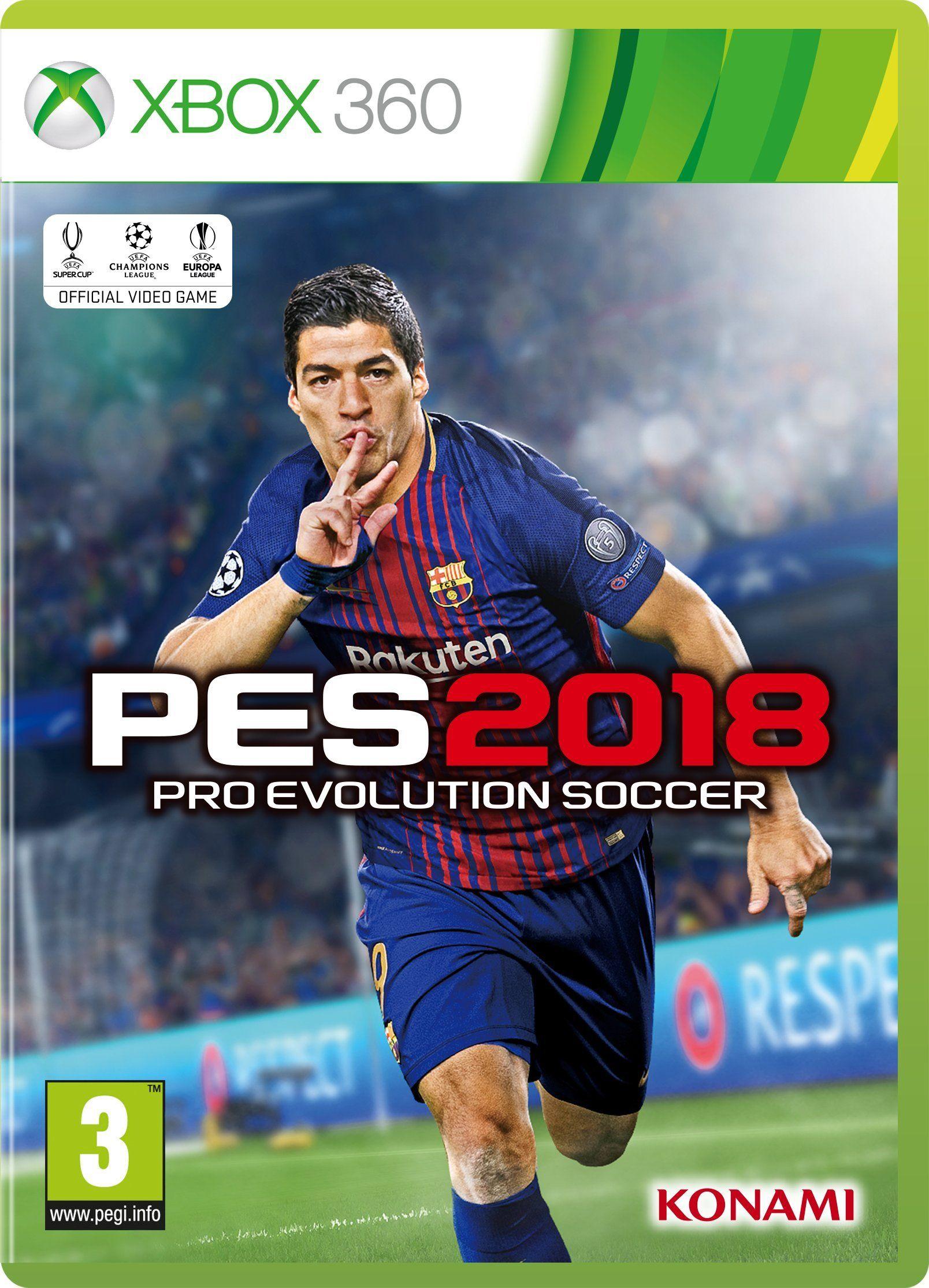 Pes 2018 Xbox 360 Pes Xbox Pro Evolution Soccer Evolution Soccer Soccer