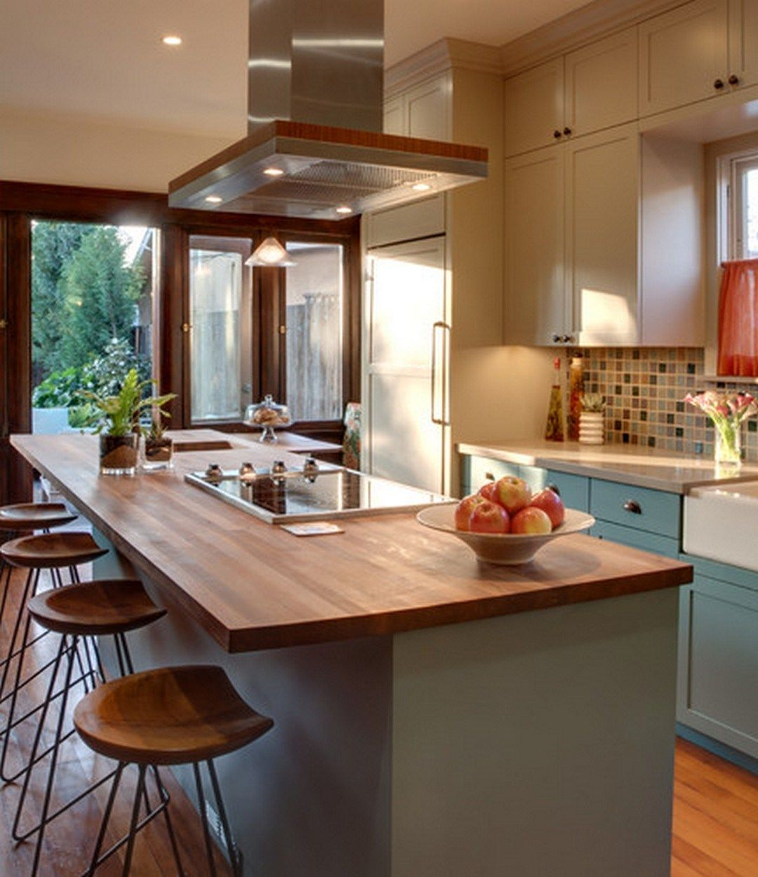 Creative Kitchen Islands With Stove Top Makeover Ideas 26 Kitchen Island With Sink Kitchen Island Decor Kitchen Island With Seating
