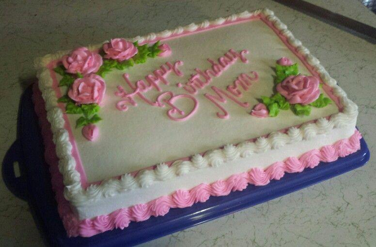 Mom's birthday cake Birthday cake for mom, Cake, Cake