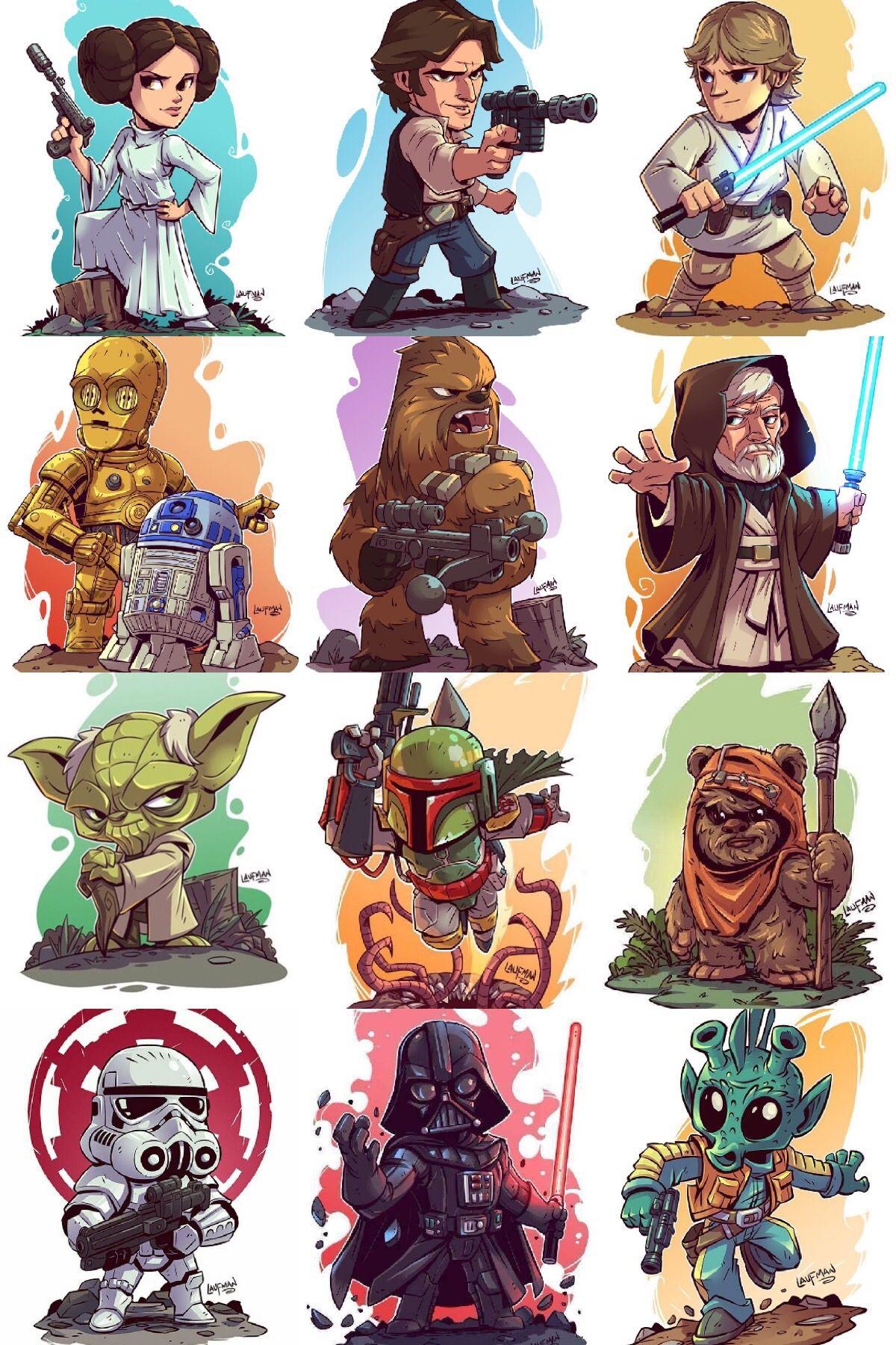 Laufman S Star Wars Star Wars Illustration Star Wars Cartoon Star Wars Drawings
