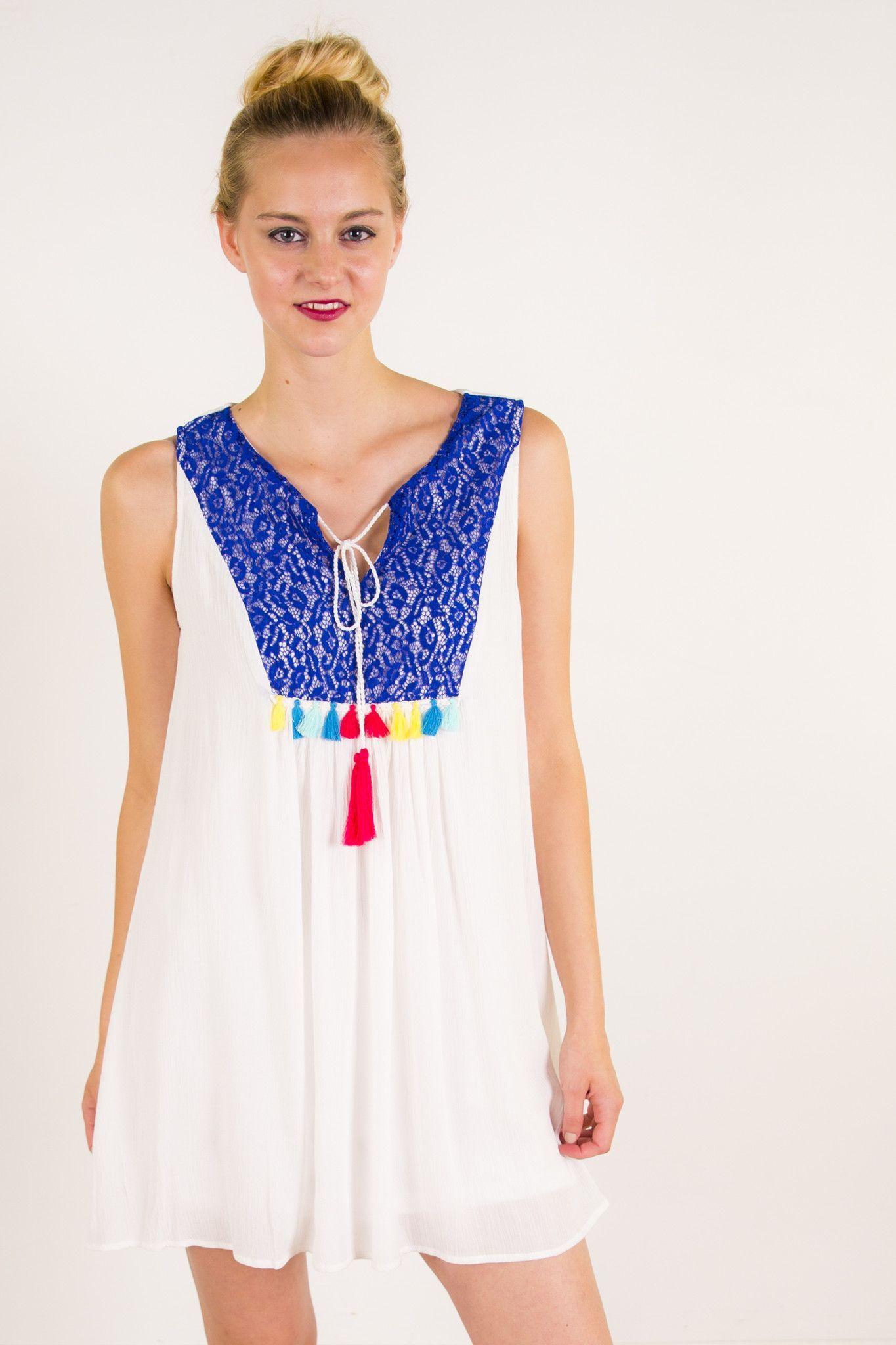 Maricela Tassel Dress