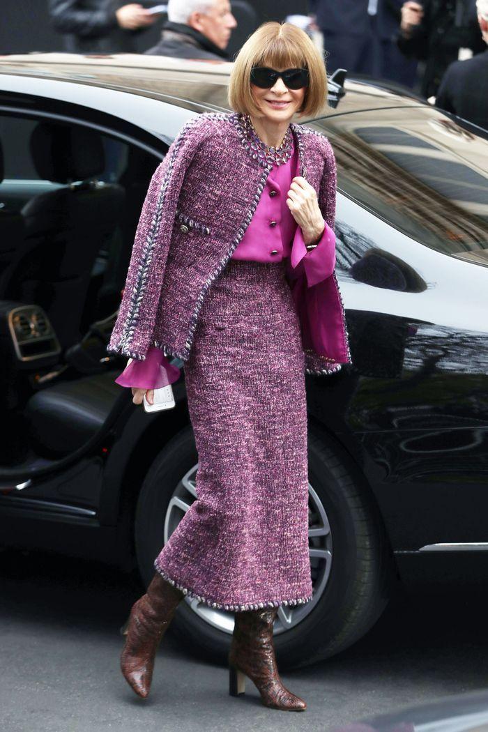 Anna Wintour's Capsule Wardrobe She Always Packs for Paris