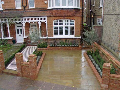 landscape front garden ideas uk - Google Search | Garden ideas ...
