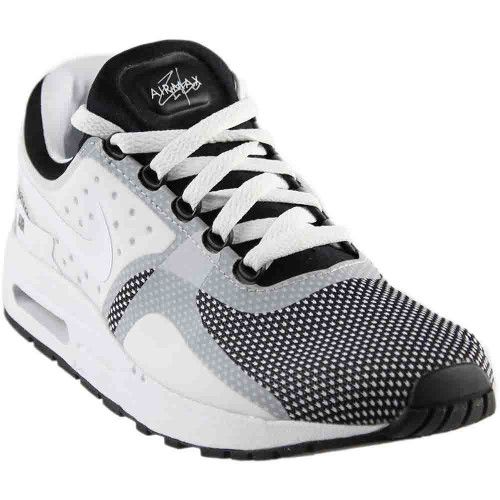 premium selection 0fb3e da234 Nike Air Max Zero Essential Grade School, Boy s, Size  6.5, White. Nike  Kids Air Max Zero Essential GS Black White Wolf Grey Running Shoe 6.5