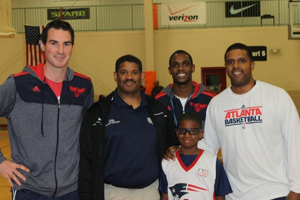 The Atlanta Hawks Basketball Development Team visited