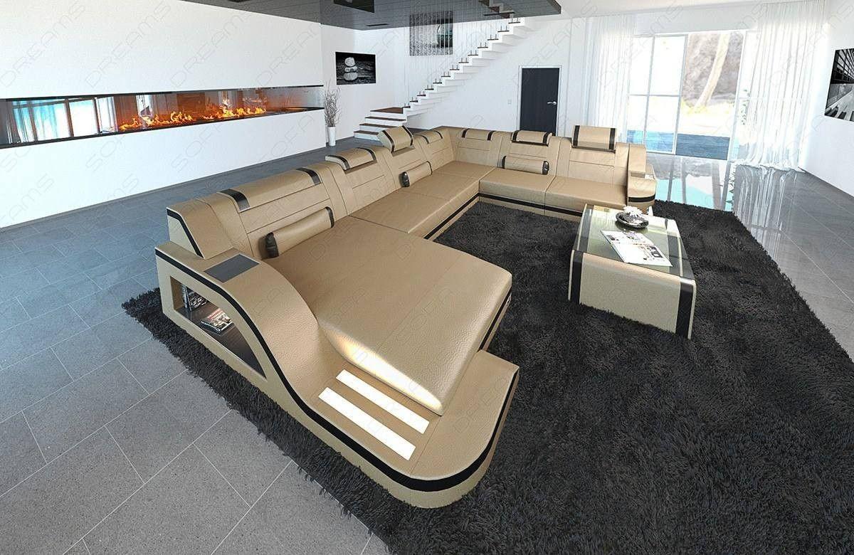 Design Sectional Sofa Detroit Led Xl Shape Sectional Sofa Modern Fabric Sofa Leather Sectional