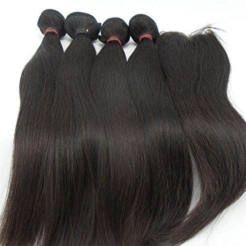 Lanova beauty 4bundles1closure 100 human hair weft extensions lanova beauty 4bundles1closure 100 human hair weft extensions straight real malaysian hair extensions pmusecretfo Images