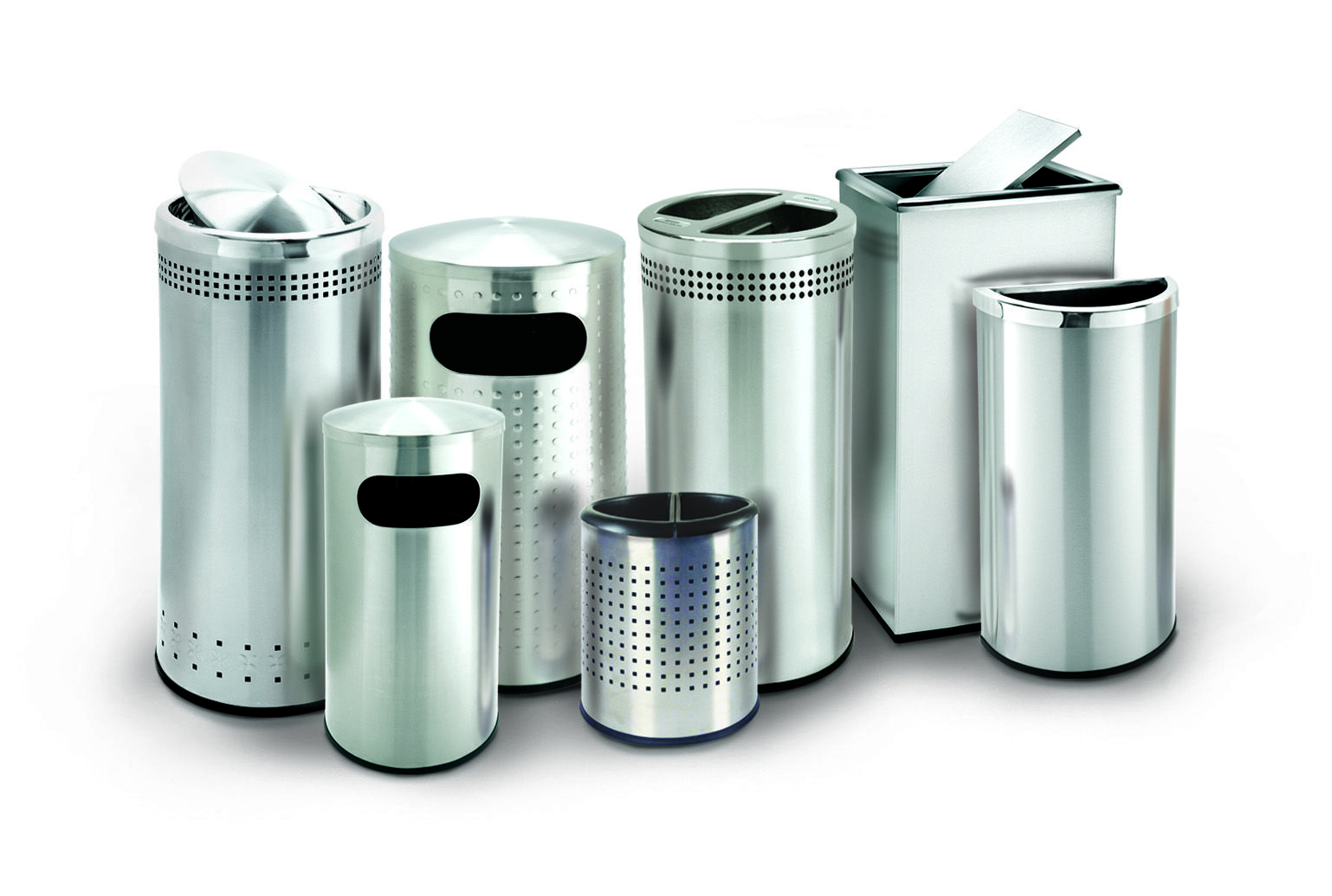 Stainless Steel Trash Cans | Stainless Steel Trash Cans | Pinterest