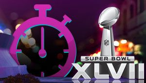 Super Bowl 47 in New Orleans, baby!