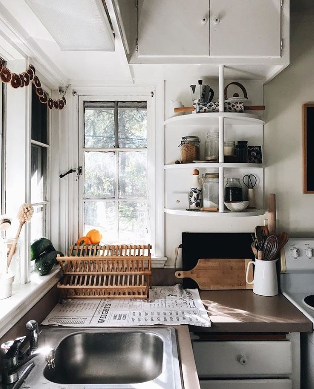 Kitchen Decoration With Waste Material
