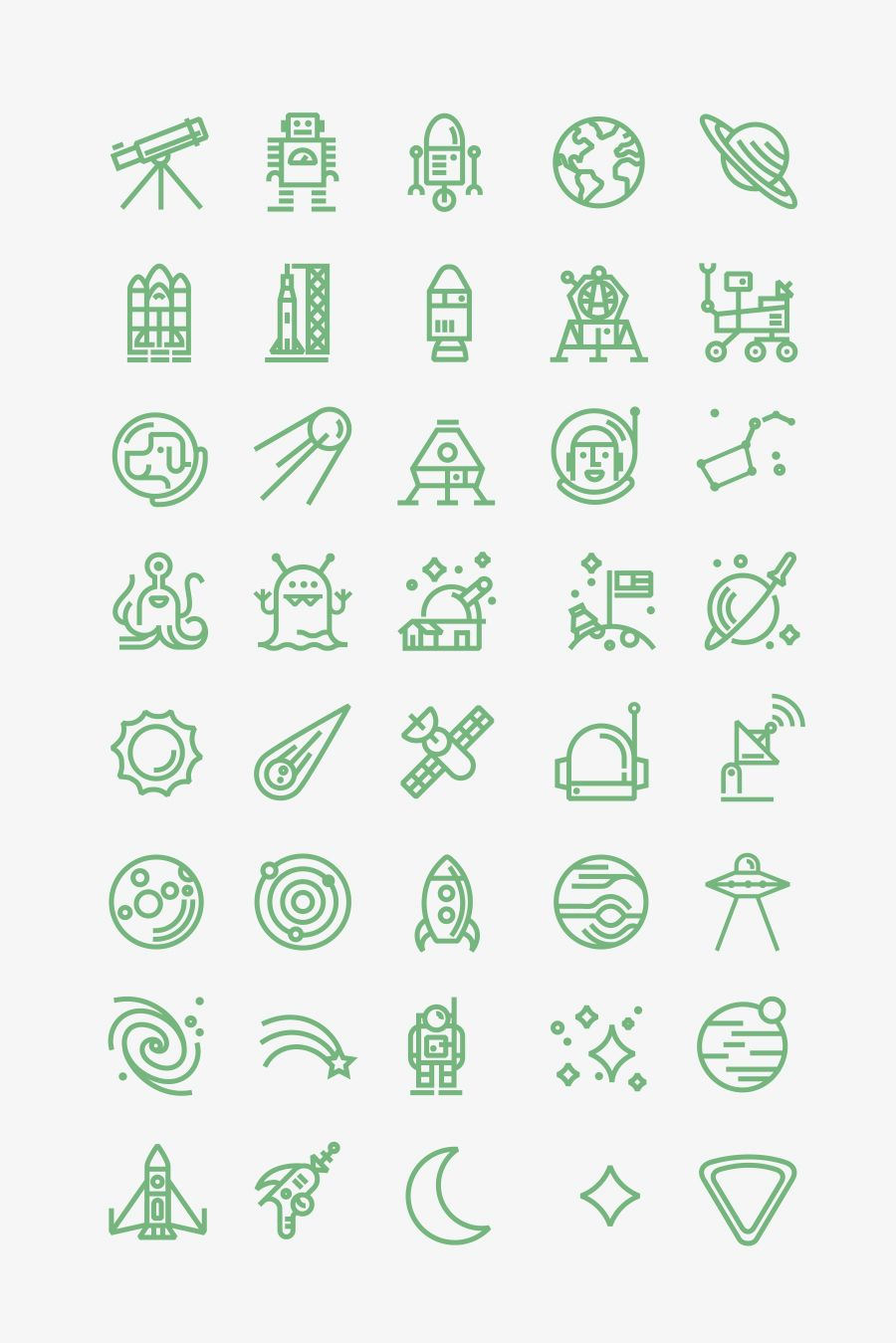 Any Of These Would Make A Cool Tattoo For A Space Fan искусство