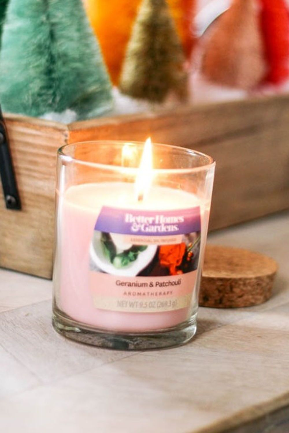 Aromatherapy Jar Candle. Via At Home with Ashley candle