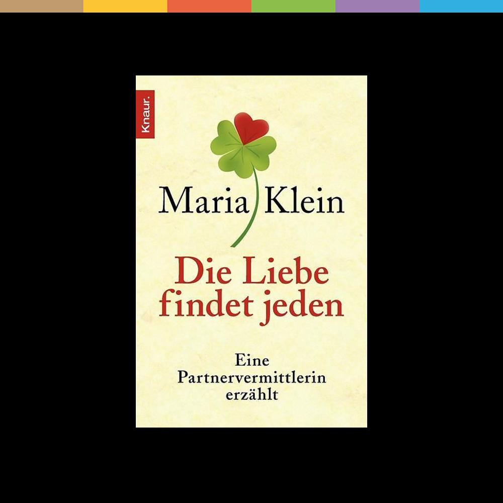 Ihr Beruf ist die Liebe. Maria Klein zählt zu den erfolgreichsten Partnervermittlern in Deutschland. Dank ihrer Hilfe haben Tausende von Paaren zueinander gefunden. Mit viel Einfühlungsvermögen und Fingerspitzengefühl analysiert sie, welche Menschen füreinander bestimmt sein könnten. Und sie macht allen Mut, die die Hoffnung auf eine glückliche Beziehung schon aufgegeben haben: