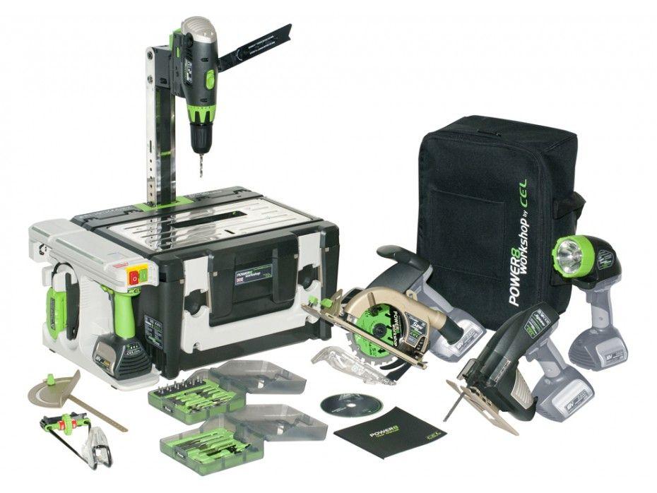 347e1d7b0d9 Atelier multi-fonction sans fil POWER 8 WORKSHOP II pas cher prix promo  Outil…
