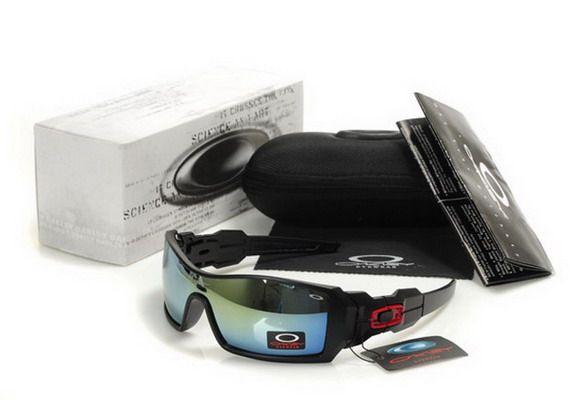 77ef9ebe7a5a3b Discount Oakley Oil Rig Sunglasses Black Red Logo   Fashion ...