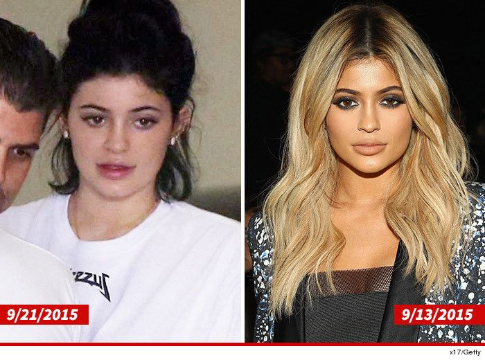 Kylie Jenner Without Make-Up = Average At Best