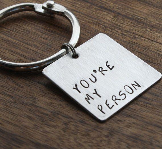 Keychain, Metal Keychain, Keychain Gift, Husband Gift
