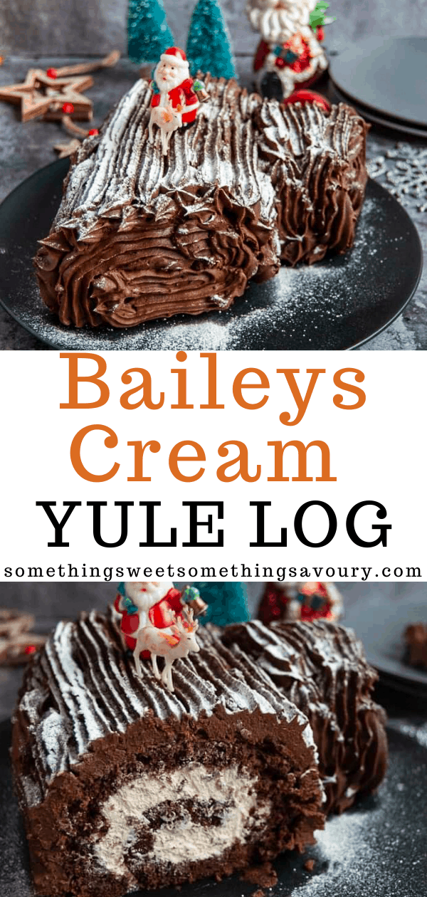 Baileys Cream Yule Log