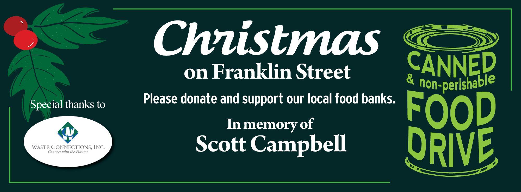 Christmas On Franklin Facebook Page Header