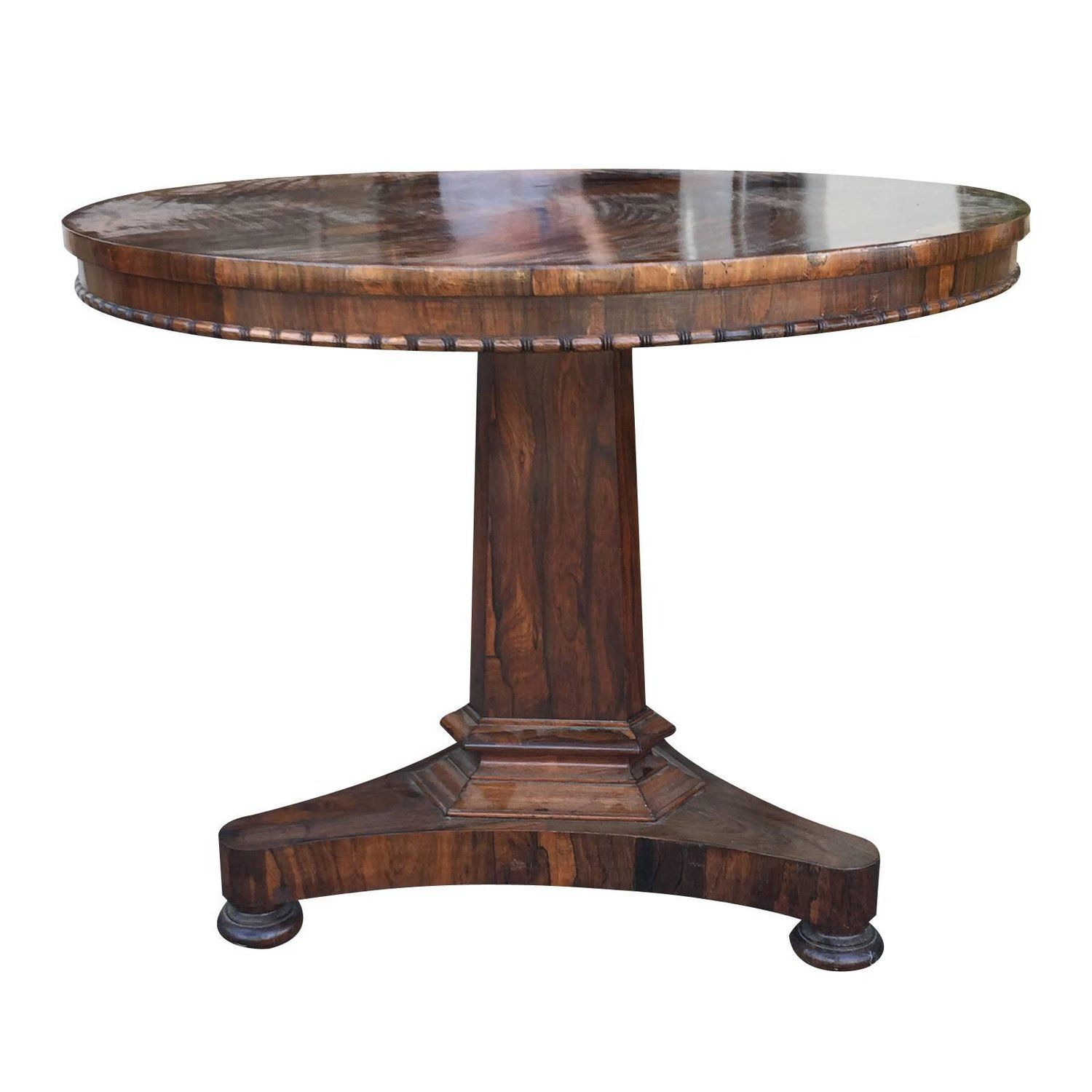 19Th Century Miles & Edwards English Regency Rosewood Centre Table