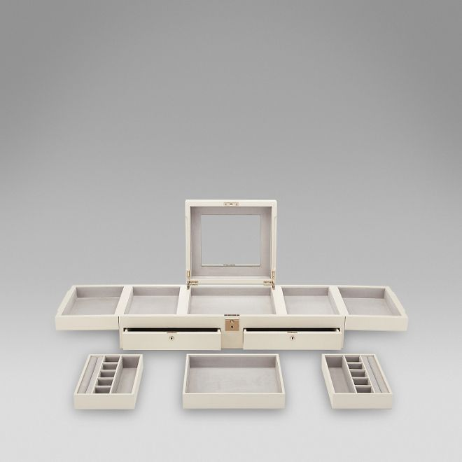Shop The Grosvenor Table Top Jewellery Box   Http://www.smythson.