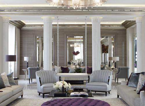 Luxurious living room · beautiful interiorsreception