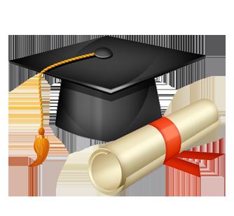 Awesome graduation cap vector photos